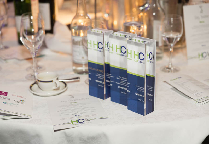 ENA wins training and development expertise award for live-in care